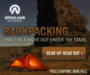 Backpacking Under the Stars - Shop at Altrec Outdoors