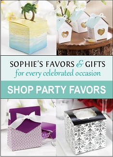 favor boxes,gift boxes,party favors,party supplies,wedding favors,unique favor ideas,unique favors