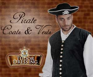 Pirate Coats & Vests