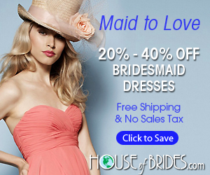 House of Brides Bridesmaid Dresses