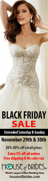 House of Brides Black Friday Weekend