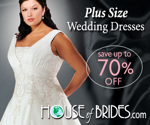 Plus size wedding dress and bridesmaids dresses / gowns