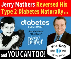 Jerry Mathers - Diabetes Reversed