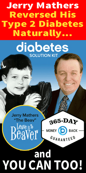 Jerry Mathers - Reverse Type 2 Diabetes