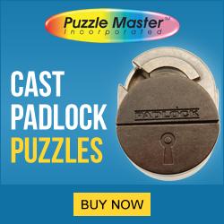 Cast Padlock Puzzles