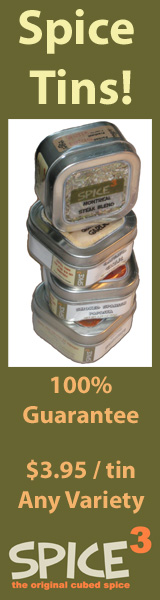 SpiceCubed - Spice Tins!