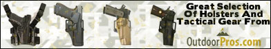 Holsters and Tactical Gear from OutdoorPros.com