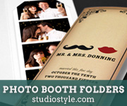 Photo Booth Folders from Studio Style