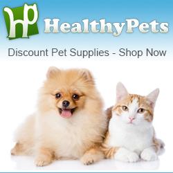 Shop discount pet supplies at HealthyPets