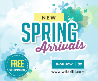 New spring arrivals at Wild Dill