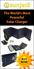 Sun Jack - world's most powerful solar charger!