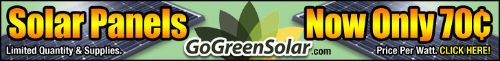 Go Solar And Eliminate Your Bill At GoGreenSolar.com!