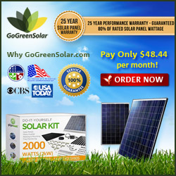 25 Year Solar Performance Warranty