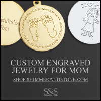 Engraved Mother's Day Jewelry Gifts