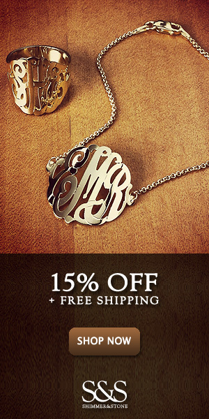 15% Off and Free Shipping on Mother's Day Jewelry