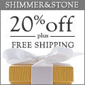 20% Off All Jewelry Gifts at Shimmer & Stone