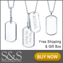Save on Dog Tag Necklaces