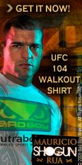 Get the Shogun UFC104 Walk-Out Shirt Here
