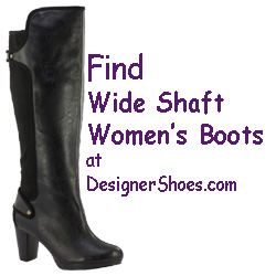 Fashion Boots for Wider Calf