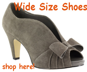 Find Wide & Extra Wide Size Shoes Here!