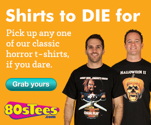 Buy 80s Horror Movie T-Shirts at 80sTees.com!