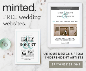 Minted Wedding Website | Design Your Custom Wedding Website With Minted Perfete