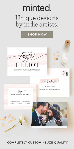 Minted - Wedding Stationery