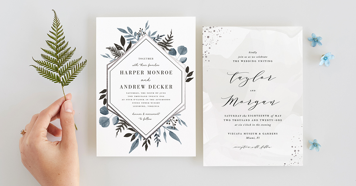 Minted Wedding Website.Our Tropical Wedding Invitation Suite From Minted Thoughtfully