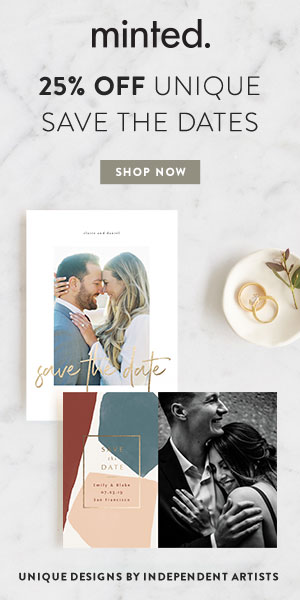 Send save the date cards. Show off your engagement ring.