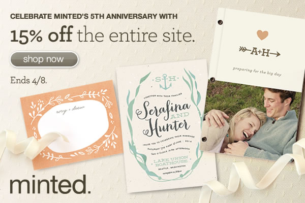15% off minted.com