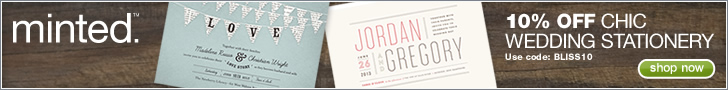March Minted Wedding Stationery