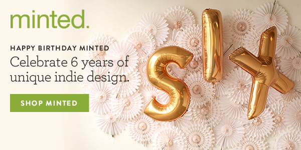 Minted Anniversary Sale