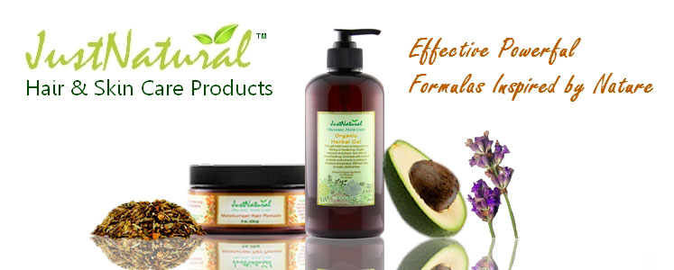 Natural Skin and Hair Care Products