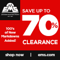 Up to 70% Off Clearance Items at EMS