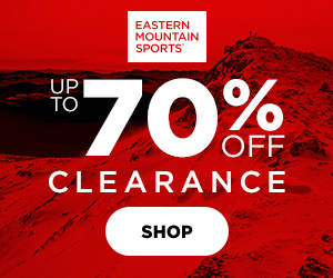 Get Up to 70% Off Clearance Items at EMS!