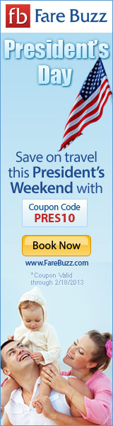 Save on Flights for President's Day!
