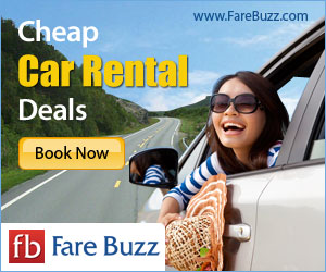 Save on Car Rentals from Fare Buzz!
