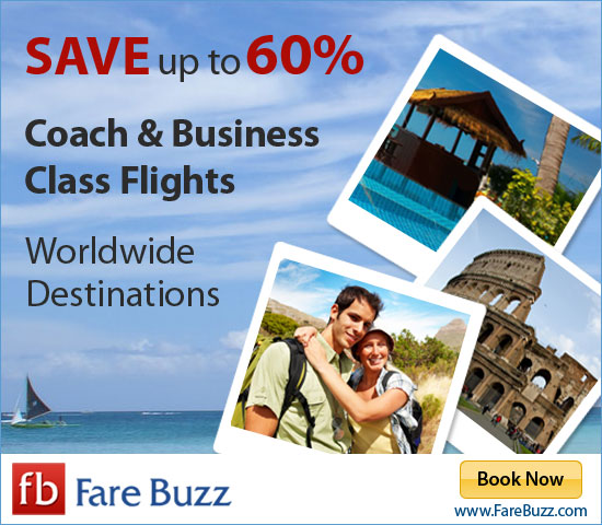 Save on Flights from Fare Buzz!