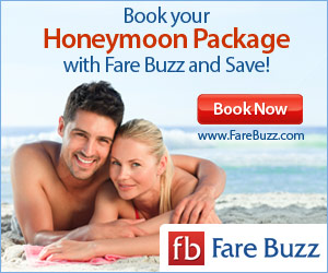 Save on Honeymoon Packages from Fare Buzz!