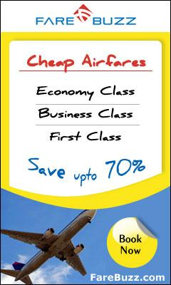 Cheap Flights with upto 70% off!