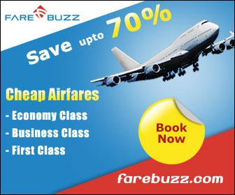Cheapest Airfares with up to 70% off