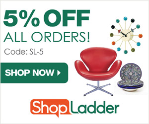 5% Off all orders at ShopLadder.com with code SL-5!