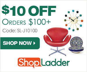 $10 OFF orders $100+ at ShopLadder.com with code SL-J10100 (valid thru 7/31/15). Free Shipping on most items!