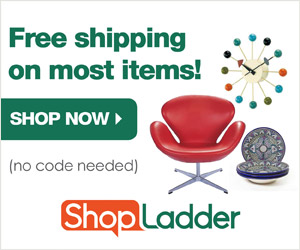 Free Shipping on most items at ShopLadder.com!