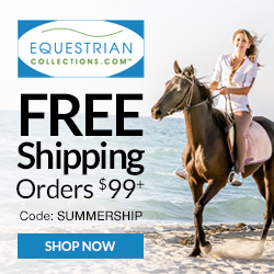 Free Shipping at EquestrianCollections.com, code SUMMERSHIP