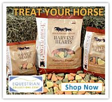 Shop for organic natural horse treats on Equestrian Collecdtions