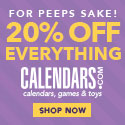 All Calendars Now Up to 50% Off + Extra 20% Off Everything