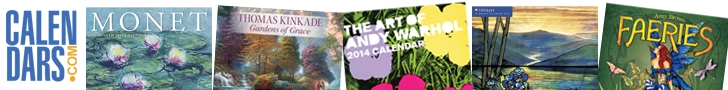 Shop Art Calendars and Gifts at Calendars.com!