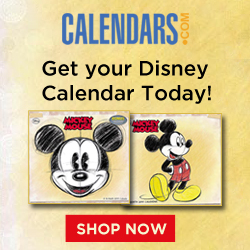 Get Your Disney Calendar Today!