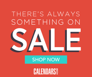 There's Always Something on Sale at Calendars.com!